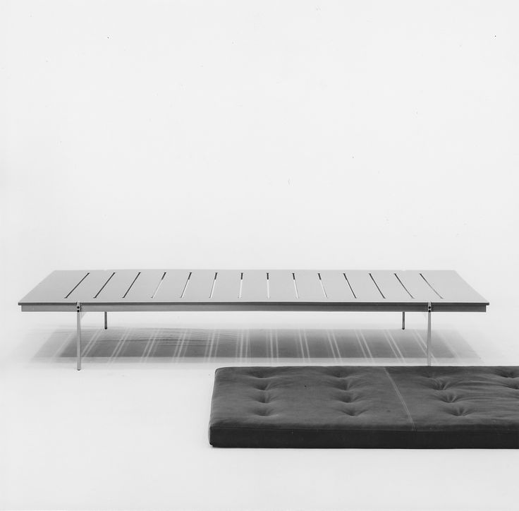 The best things are beautiful inside and out. Daybed by Fabricius & Kastholm for bo-ex furniture, 1964. http://www.bo-ex.dk/project/daybed/