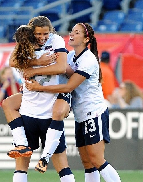 Tobin Heath | Alex Morgan | Lauren Cheney (2013)