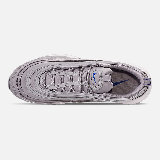 Top view of Men's Nike Air Max 97 WE Casual Shoes in Wolf
