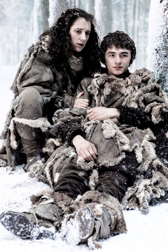 Bran & Meera - Blood Of My Blood Season 6 Episode 6