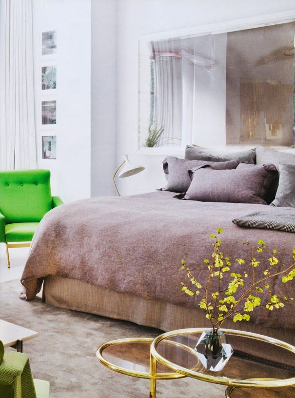 Contemporary Style bedroom in a warm Oatmeal