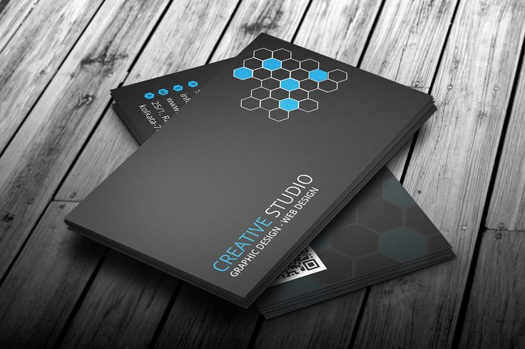 Creative Corporate Business Card V2 by GBJ solution on Creative Market