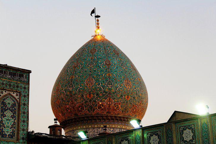 Şah Çerağ Türbesi, Şiraz Şehri, İran
