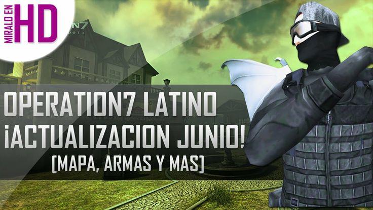 """Hoy les traemos la nueva actualización de OPeration7 Latino, en ella podemos encontrar el Nuevo Mapa denominado """"La Fabrica"""" dos nuevas armas, una primaria y una secundaria"""