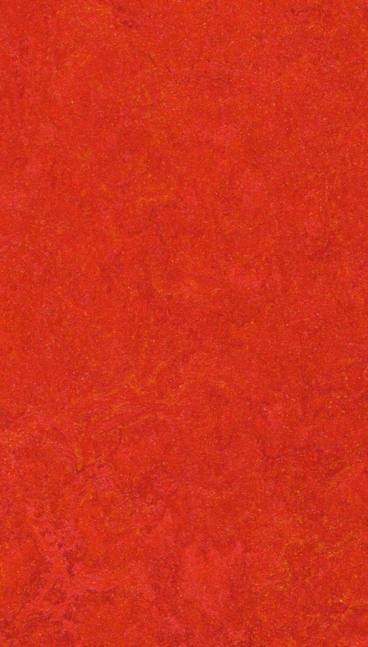 Dalle de linoléum clipsable rouge forbo marmoleum click 333131 scarlet bricoflor