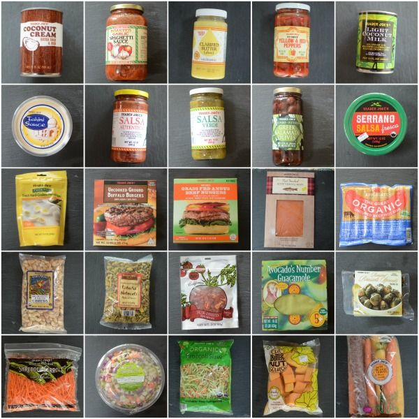 25 Whole30 compliant foods at Trader Joe's by @jennyonthespot