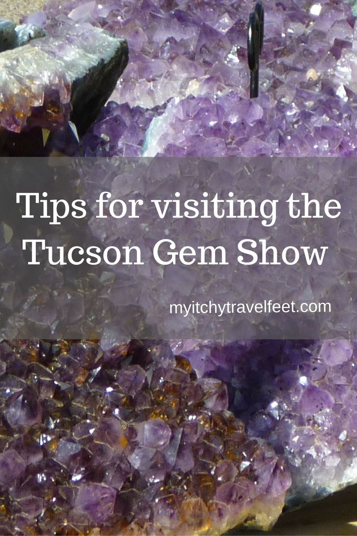 The Tucson Gem Show is one of the largest gem and mineral shows in the world. Held from late January to mid February in Tucson, Arizona, there are over 40 shows to visit plus lots more. Make the most of your trip by reading our Tucson Gem Show travel tips.