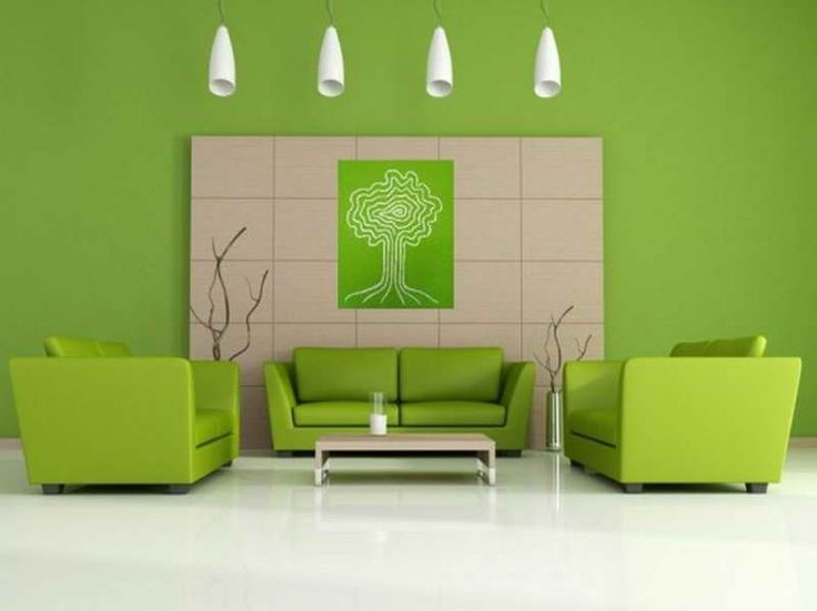 Green House Paint Color Design ~ Http://lovelybuilding.com/wall