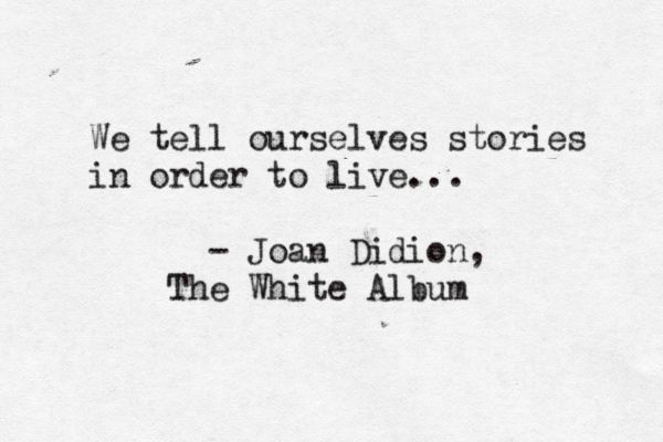 Amanda Patterson (typewrittenword: The White Album by Joan Didion ...)