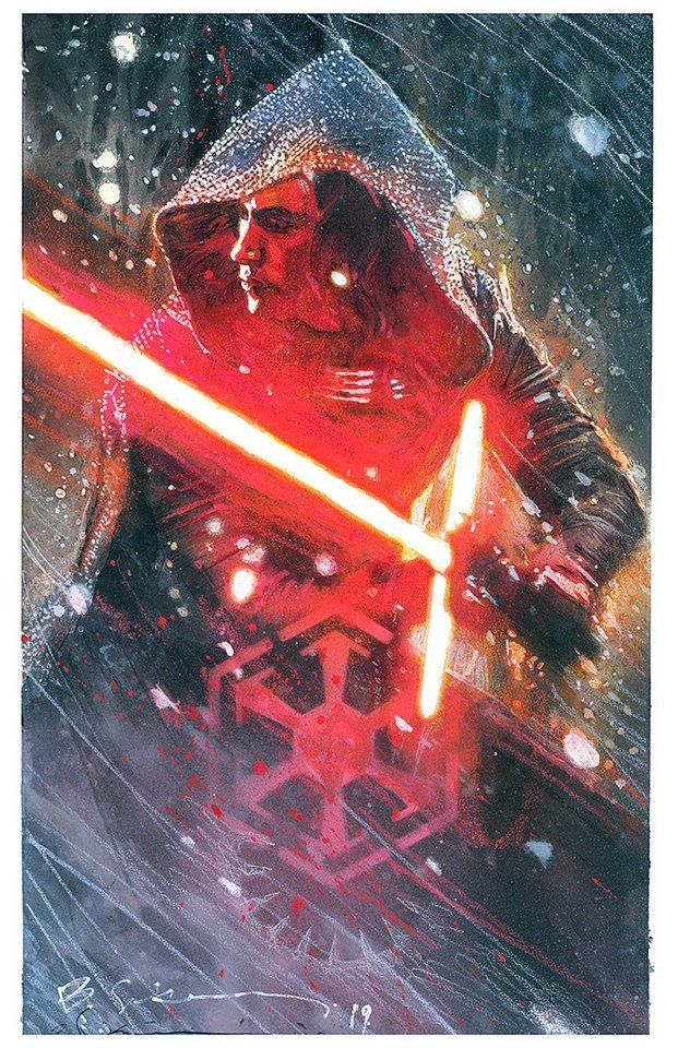 Kylo Ren By Bill Sienkiewicz Star Wars Nerd Star Wars Geek Star Wars Art