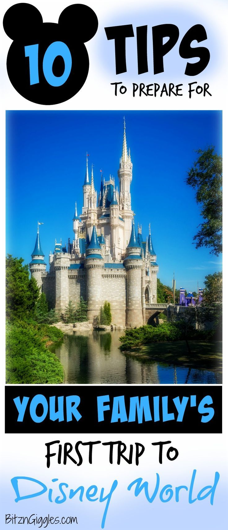 10 Tips to Prepare for Your Family's First Trip to Disney World - Psst. . .I love #5! Check out 10 ways to build some magic into your planning for a trip your family will never forget!
