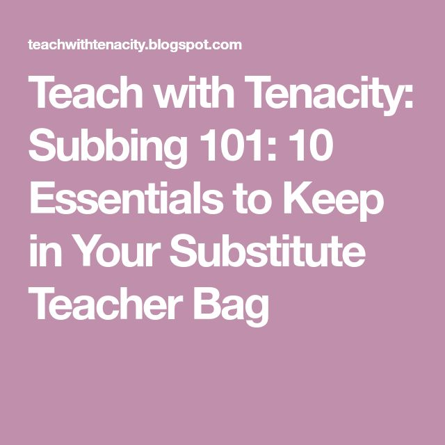 The 25+ best Substitute teacher jobs ideas on Pinterest - substitute teacher job description