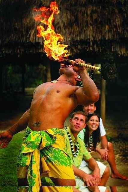 Oahu , Hawaii Polynesian Cultural Center