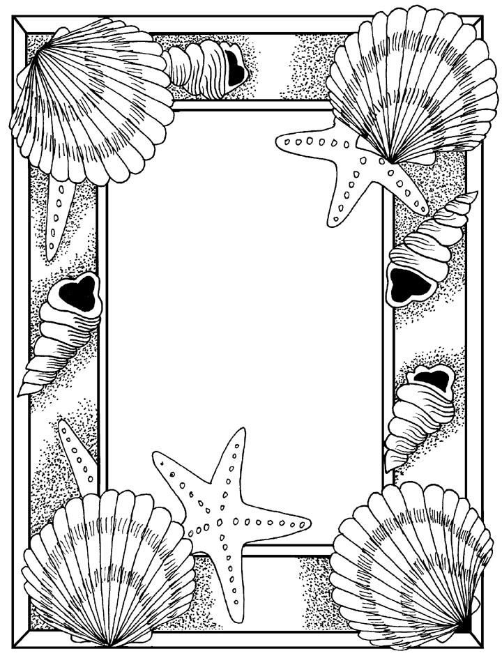 Art with edge coloring pages ~ 306 best images about Frames ~ Borders on Pinterest | Free ...