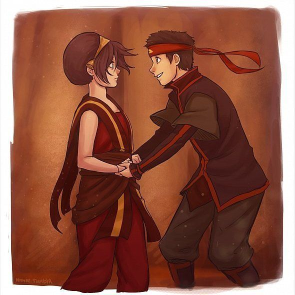 """1,257 Likes, 81 Comments - . (@foreveraang) on Instagram: """"Ship or no ? #avatar #aang #toph #ship #like4like #funny"""""""