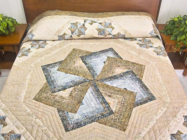 17 best Star Spin Quilting Ideas images on Pinterest | Cushions ... : amish star spin quilt pattern - Adamdwight.com