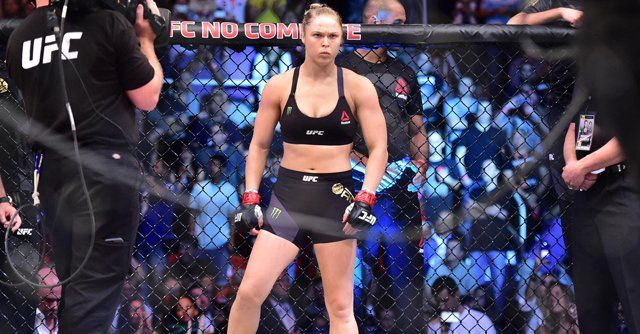 Rousey fans are not happy to fight Holly Holm at UFC 195