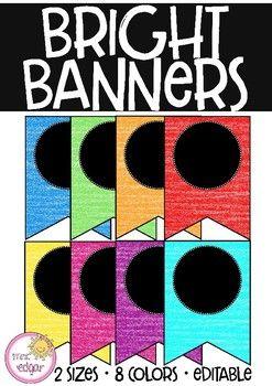 Editable Banner | Black
