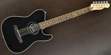 FENDER / Telecoustic Black  Guitar Free Shipping! δ