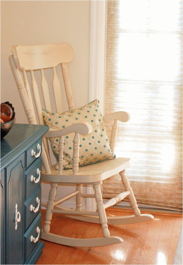 Of course a rocking chair without cushion - or anything without cushions - is incomplete!