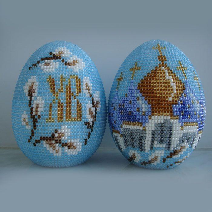 Пасхальное яйцо | biser.info - всё о бисере и бисерном творчестве