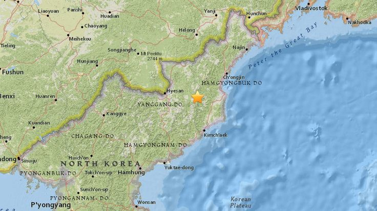 A 5.1 magnitude earthquake has been recorded in North Korea, 6 Jan, 2016  ~  not an natural earthquake but hydrogen bomb.
