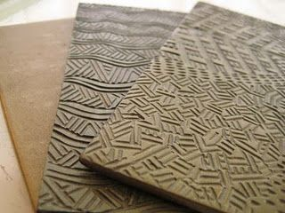 How to make polymer texture plates using window glass in the oven.