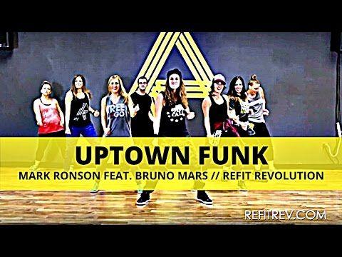 """Uptown Funk""    Bruno Mars    Dance Fitness    REFIT® Revolution - YouTube"