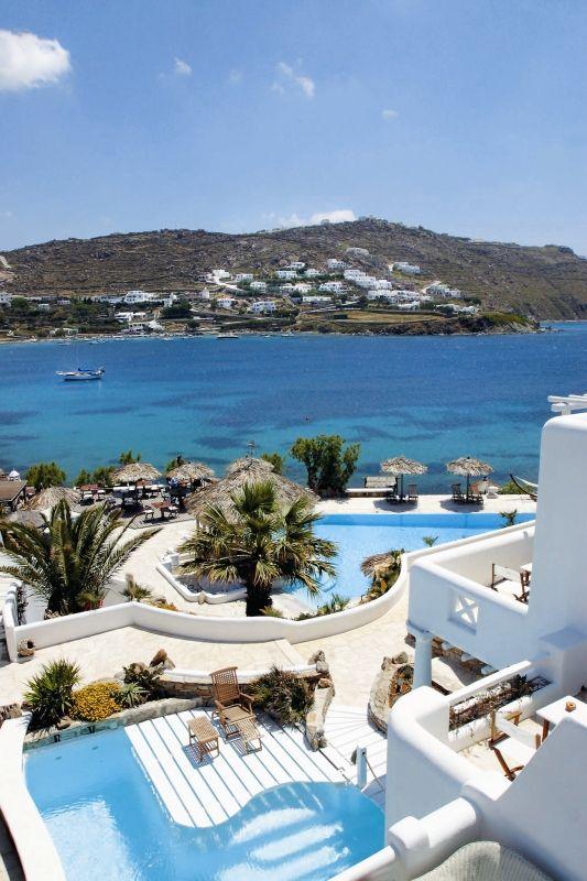 Mykonos Greece   Mykonos Suites Hotel - Kivotos in Ornos Mykonos Greece