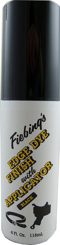 Fiebing's Edge Dye Finish Applicator Quick Dry Water Resistant - 4 oz