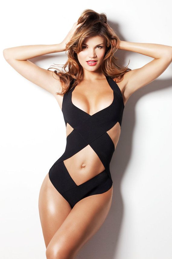 TOP selling swimsuit as seen in GQ, one piece, swimwear, bathing suit. $95.00, via Etsy...can you say hot!!!