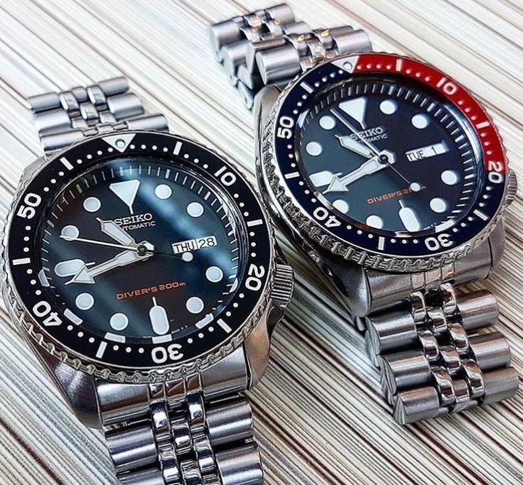 The Iconic Vintage Seiko SKX007 & SKX009 Pepsi. - geneva watches, brands of watches for mens, ball watches *ad