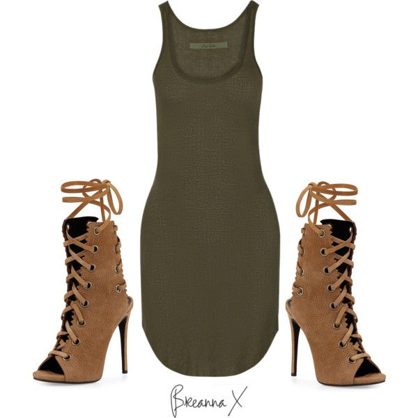 Untitled #2235 by breannamules on Polyvore featuring Enza Costa and Giuseppe Zanotti