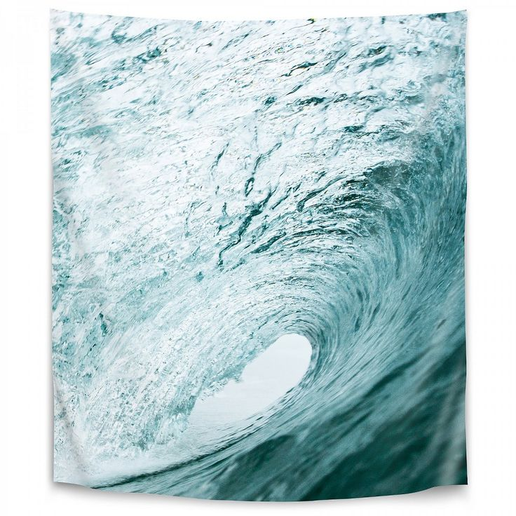 Americanflat Wave By Sisi And Seb 26 X36 Wall Tapestry In 2021 Art Prints Wave Art Coastal Prints