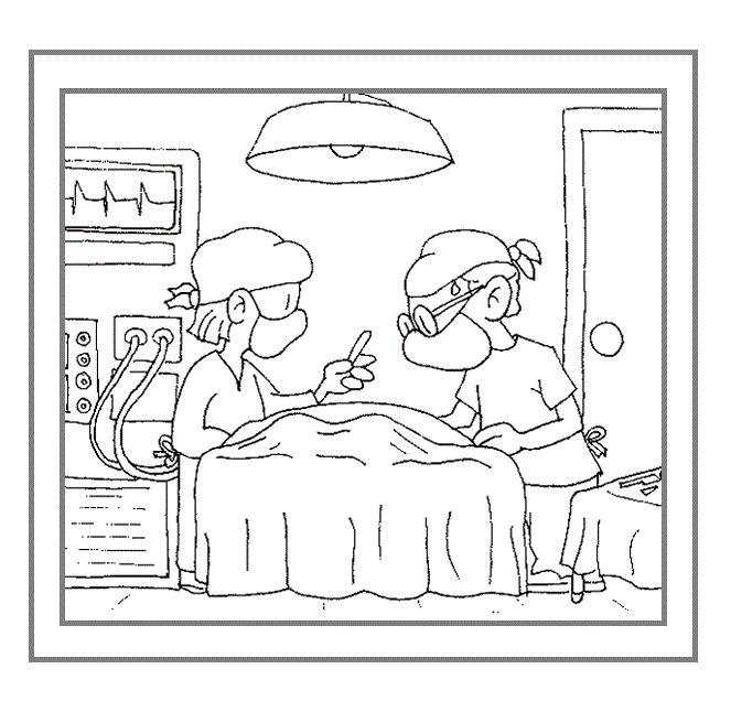 * Operatiekamer...