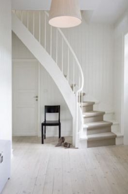 Curved stair. Photo by Pernille Enoch
