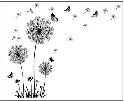 Afbeeldingsresultaat voor dandelion butterfly tattoo designs