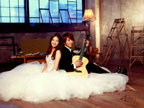 "Yonghwa and Seohyun - ""We Got Married"" Wedding Shoot"