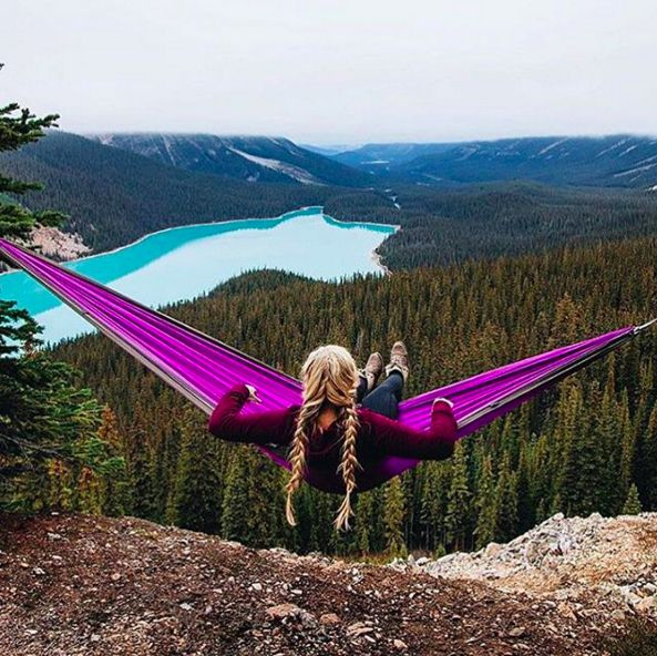 A packable hammock, $99 | 23 Gifts For People Who, Like, Actually Camp
