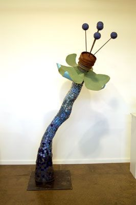 Association of Sculptors of Victoria | Sculpture: Triffid 9