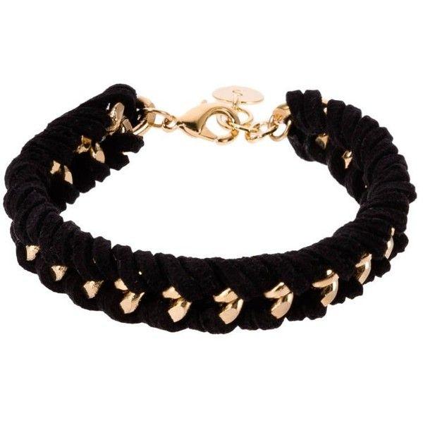 SNÖ of Sweden VELVET Bracelet found on Polyvore