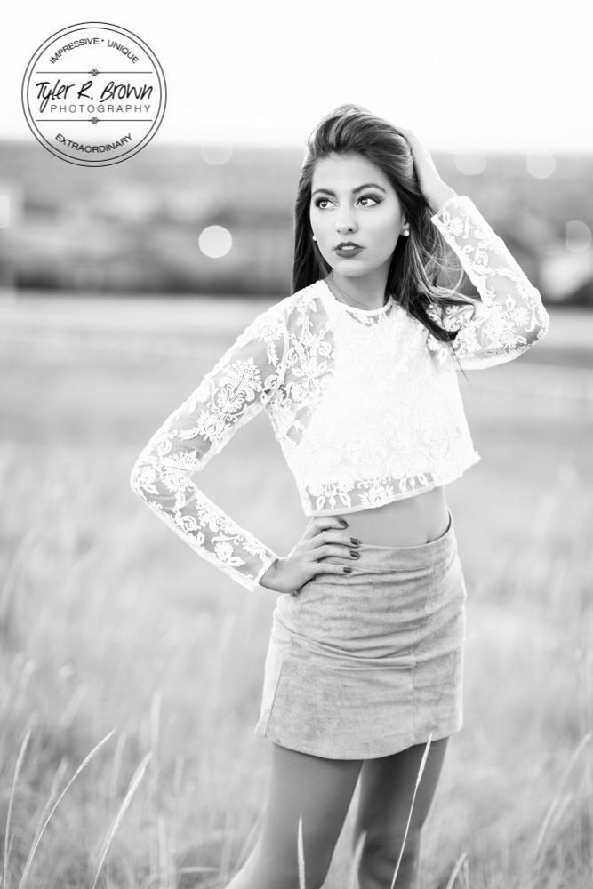 Jadzia Sanchez - Senior Photography - Senior Girl Poses - Theater Kid - Movie Lover - Urban Poses - Senior Photos - Dallas, Texas - Senior Pictures - Lone Star High School - Senior Summer - Class of 2017 - Tyler R. Brown Photography