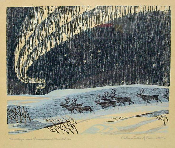 F. Tideman-Johannessen 1912-1958 from Norway in 12 Woodcuts