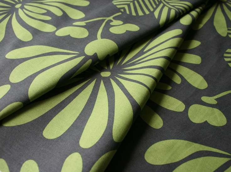 Japanese Floral Green