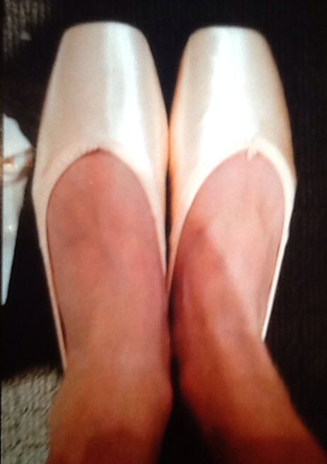 My pointe shoes