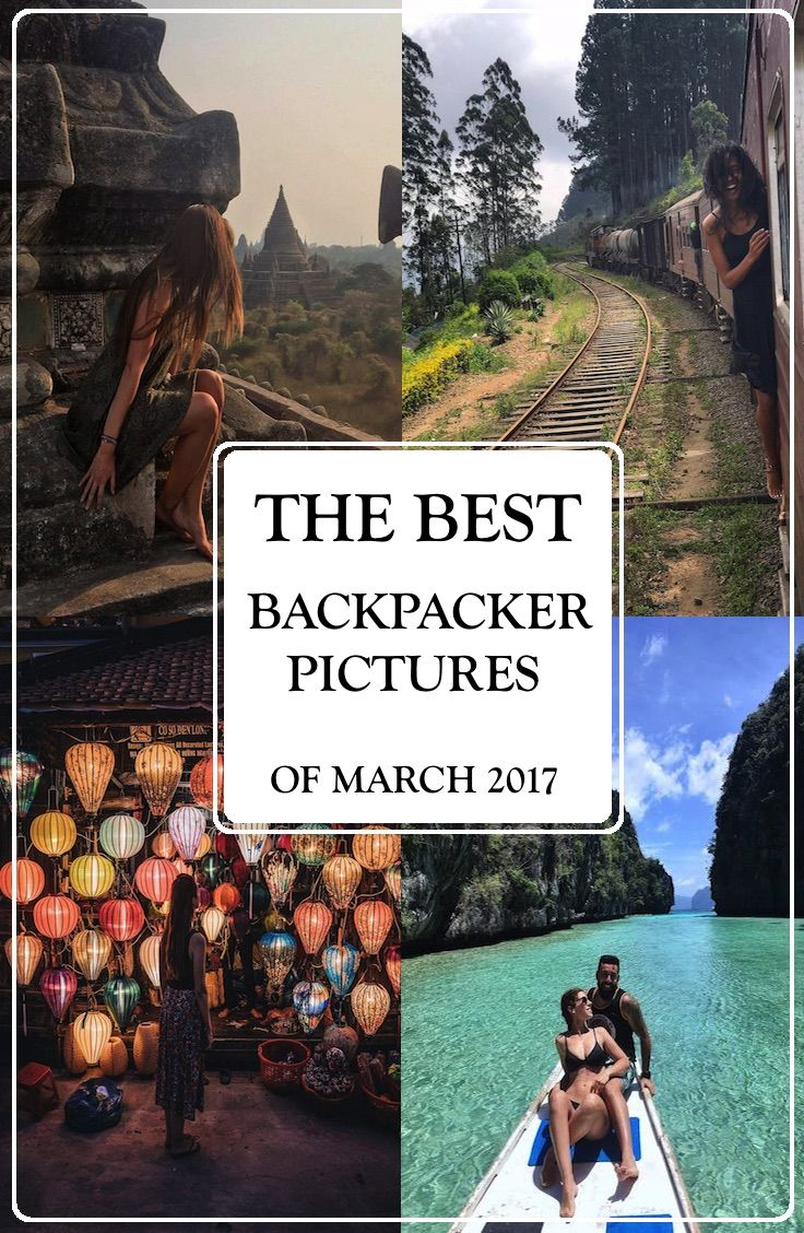 Top 10 Backpacker Pictures of March 2017
