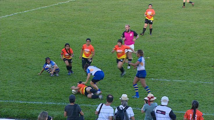 Porto Velho recebe etapa da Liga Norte de Rugby no Aluízio Ferreira #globoesporte