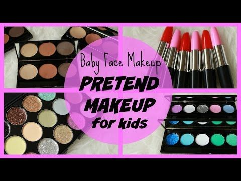 Introducing Baby Face Makeup | PRETEND, play, non-toxic, mess free 'makeup' for KIDS - YouTube