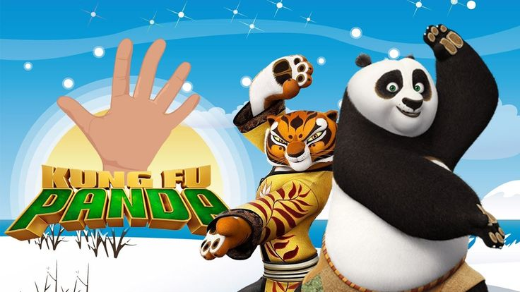 Kung Fu Panda Finger Family Song - The Finger Family Song Nursery Rhymes...