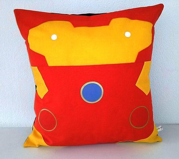 Iron Man  /Pillow cover/ Marvel/ Iron Man cushion by Morondanga